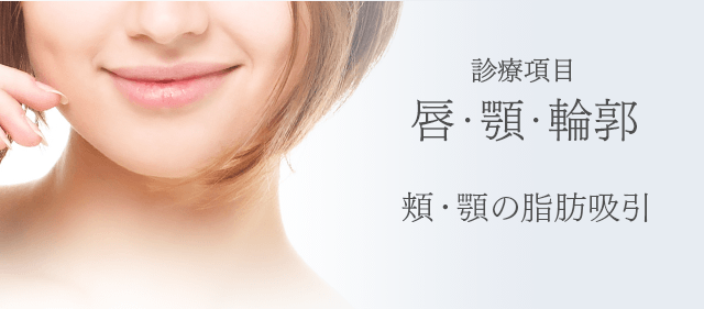 診療項目:唇・顎・輪郭